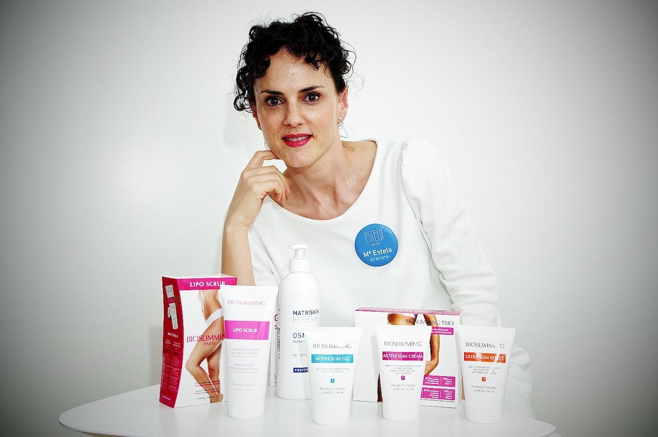 ESTELA Belleza, Productos corporales, Bioslimming, Osmotic, Matriskin, LipoScrub